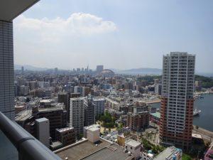 《KDXレジデンス大濠ハーバービュータワー》見て!この眺望