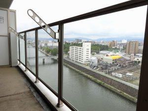 【サニークレスト東比恵】山と川を眺めて